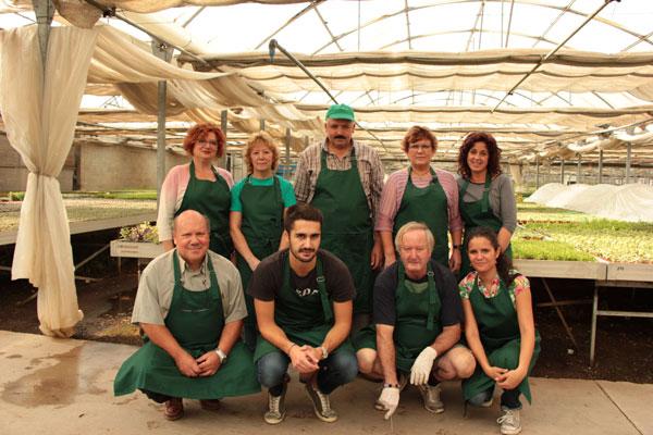 Une équipe passionnée pour les cactus et plantes grasses